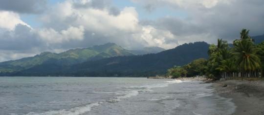 The beach in Masca