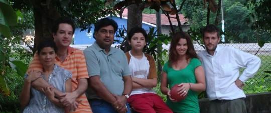 Antonio's family and friend