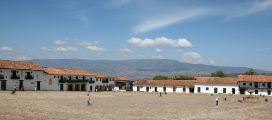 Tunja main plaza