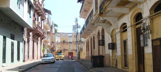 Old streets of Panama City