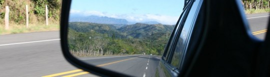 Cordillera Central, dividing the north and south of Panama