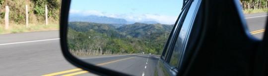 Cordillera Central, dividing the north and south of Panama