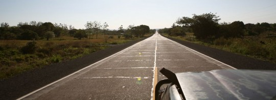 Another stretch of the Pan-American Highway