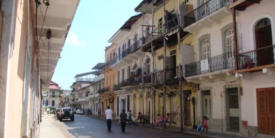 Typical street, Casco Viejo
