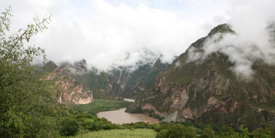 Getting closer to Cusco