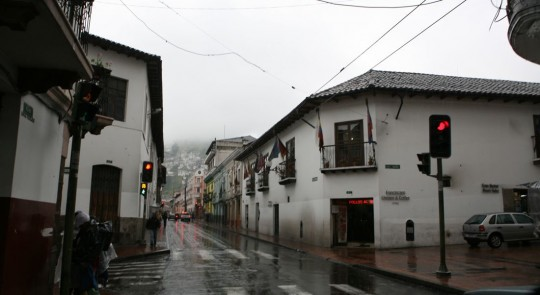 Rainy day in Quito