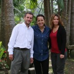 Diana, our host in Popayan