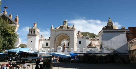 Copacabana cathedral