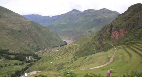 Pisac, agricultural terraces