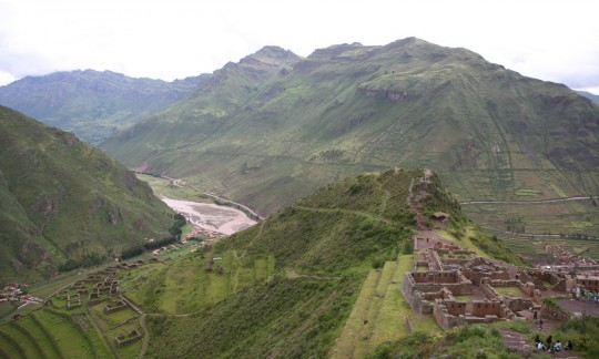 Pisac, the temples