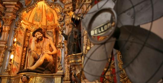 Statue in the Recoleta neighborhood, Buenos Aires