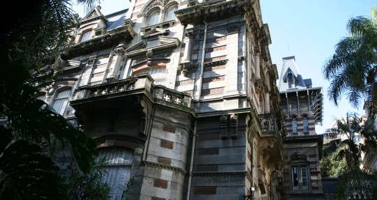 Classic European architecture in Buenos Aires. Here, an embassy.