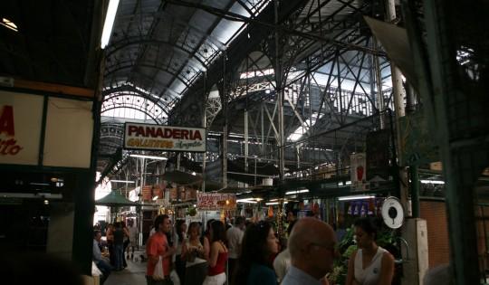 Indoor market, San Telmo