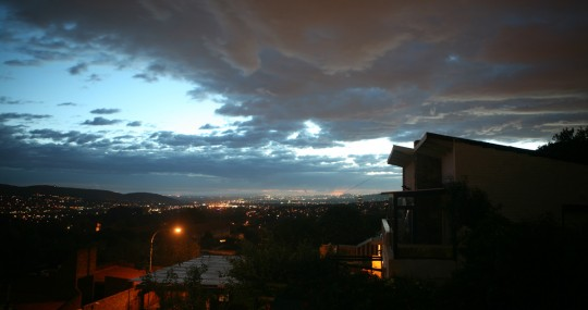 Johannesburg view from Kensington