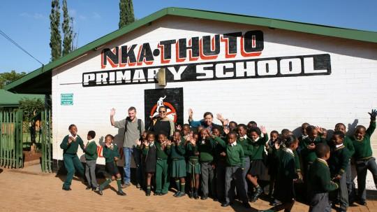 Visit in a school, Soweto