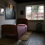 Mandela's bungalow bedroom