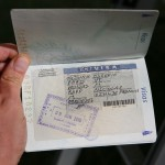 The precious Ethiopian visa.