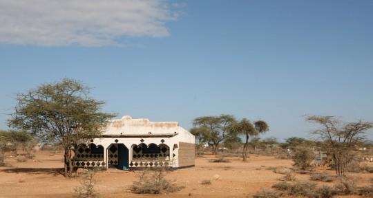 House in the desert.