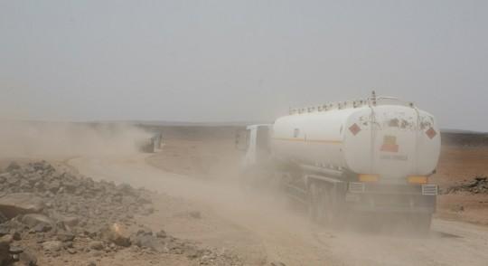 The road to Djibouti.