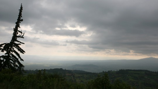 Shortly after exiting Nairobi, I enter the Rift Valley.