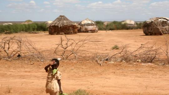 Village on the Kenyan side.