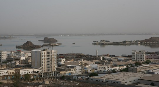 The port of Aden.