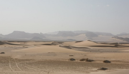 The desert in Yemen.