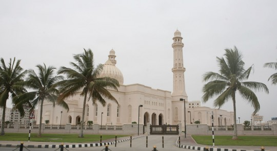 One of Salalah many mosques.