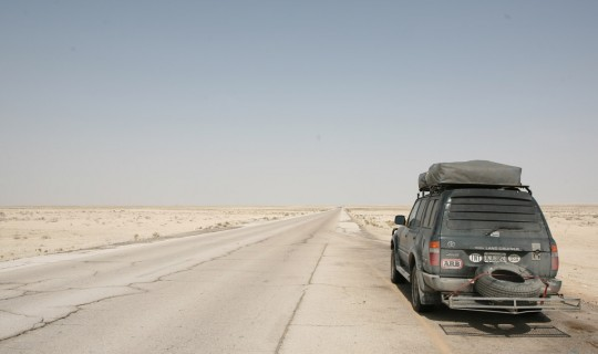 "Close to the Saudi ""Empty Quarter""."