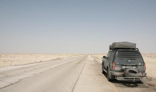 """Close to the Saudi """"Empty Quarter""""."""