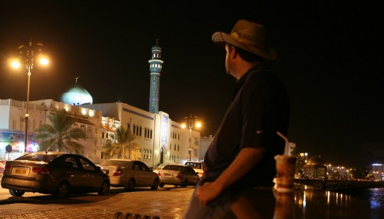 Antonio in old Muscat.