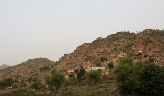 It took me a long time to access the Yemeni landscapes.