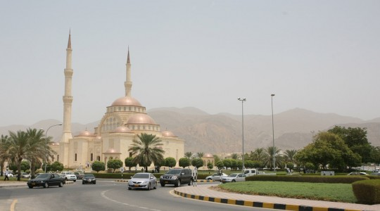 Arriving in Muscat.