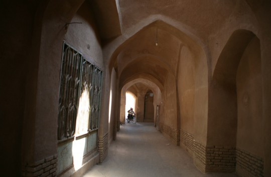 Yazd alleys, easy to get lost in.