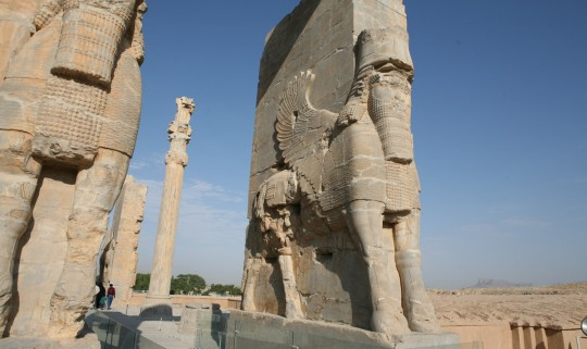 Persepolis entrance gate.
