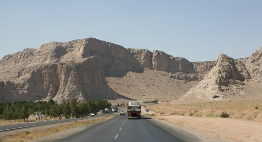 The road to Esfahan.