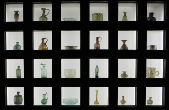 The glass and ceramics museum in Tehran.