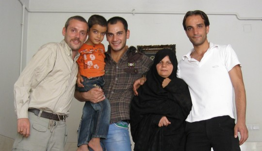 Amid and his family who kept me home in my last days in Iran.