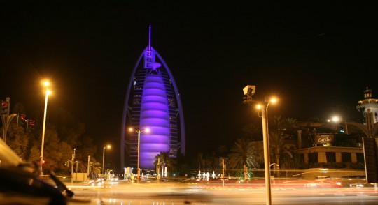 The Burj Al Arab.