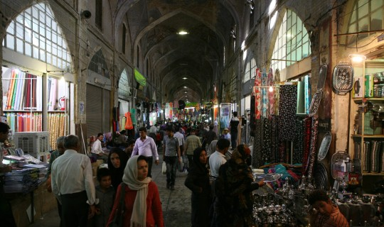Shiraz's Bazar-e Vakil.
