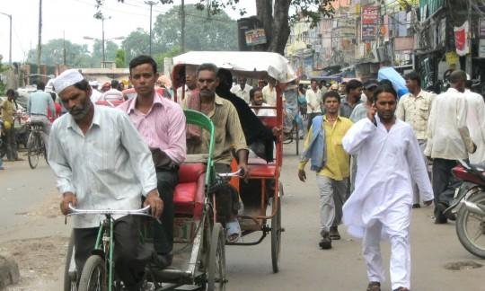 Delhi Tuk-Tuk and rickshaws.