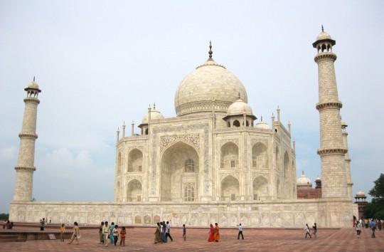 The Taj Mahal, one of the World Marvels.