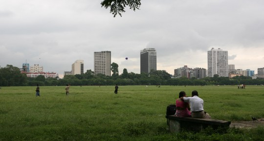 The Maidan, Calcutta's Central Park.