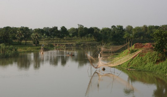Fishing in Bangladesh rivers.