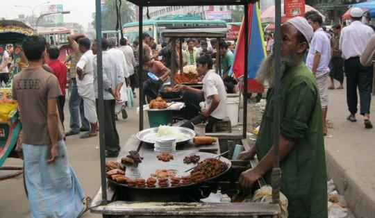 Street food, Dhaka.