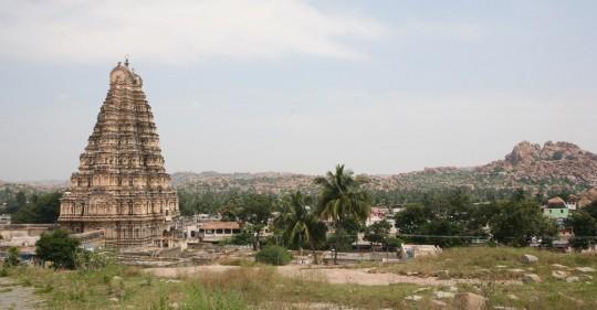 Virupaksha Temple.