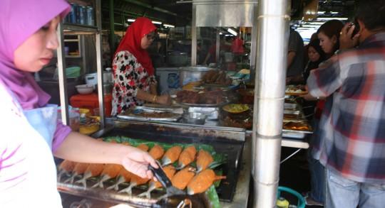 In Kuala Lumpur Little India.