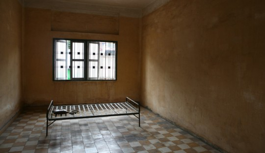 The Tuol Sleng museum.