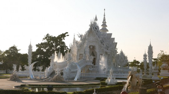 Temple in Chiang Rai.