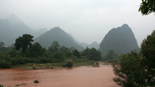 Around Vang Vieng, Laos.